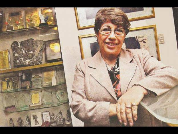 The woman at the helm of Peru's mining trade guild