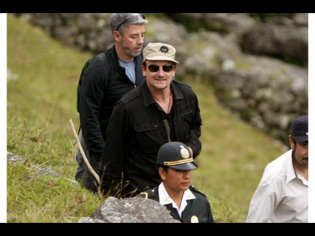 Peru: U2's Bono travels to Tambopata
