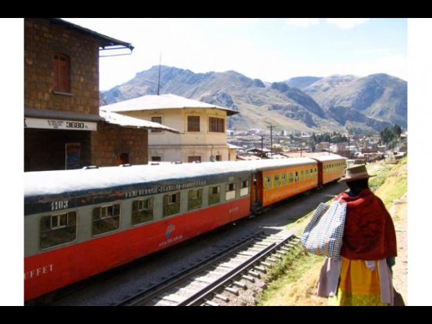 Peru's macho train to link Huancayo and Huancavelica again