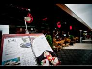 Cafe Cafe: A great view and a menu option for every taste