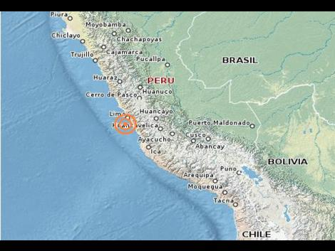 4.0M earthquake shakes Peru's capital