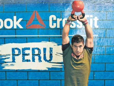 Peruvian athlete wins CrossFit Latin America title for second straight year