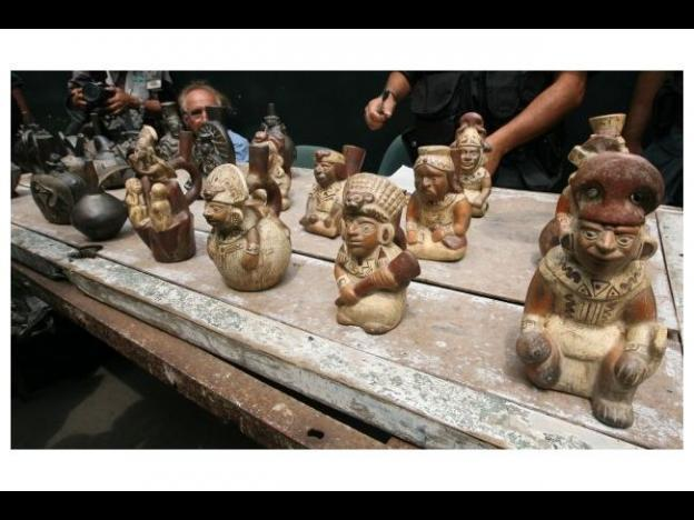 Egypt seizes smuggled artifacts from Peru