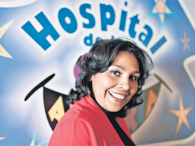 Healing bodies with laughter yoga at the Hospital of Happiness