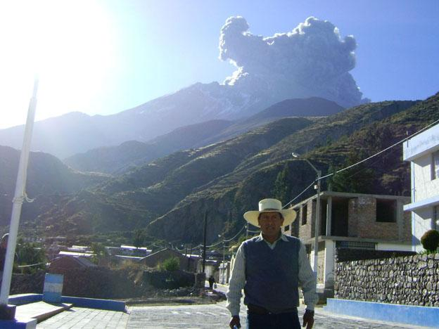 Peru: Ubinas Volcano erupts for fifth time in two days
