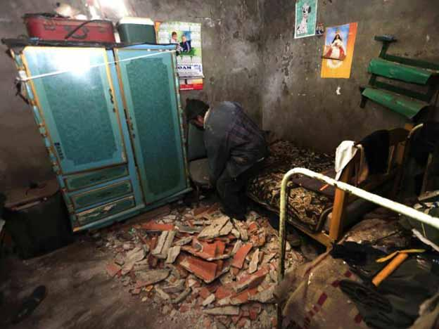 Photos: Effects of earthquake in southern Peru