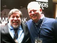 Steve Wozniak inspires in Lima, Peru