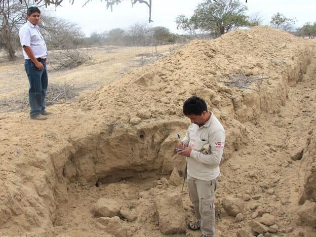 Ficuar archaeological complex in northern Peru destroyed