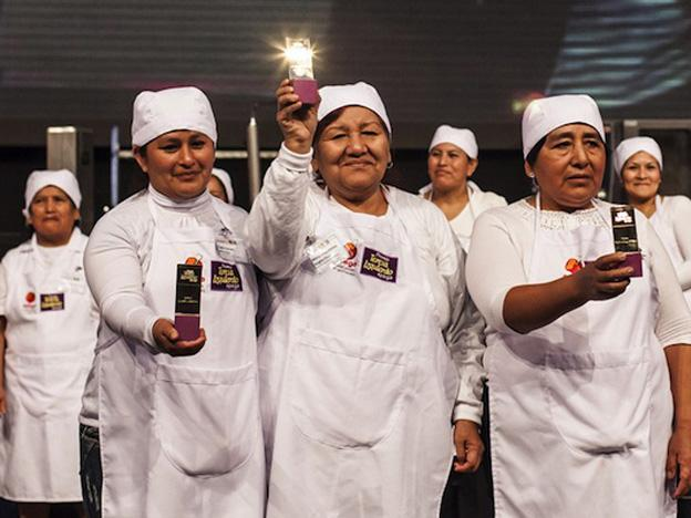 Giving credit to 'Peru's Goddesses of Food'