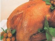 Thanksgiving dinner with a Peruvian twist: Turkey with aguaymanto sauce
