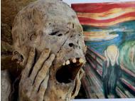 The Scream was inspired by a Peruvian mummy