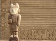 Unesco volunteers complete work on Peru's Chan Chan complex