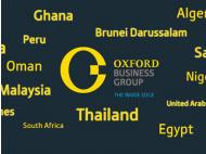 Oxford Business Group say Peru is good place for private investment