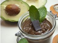 Avocado cacao mousse