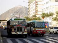 Where old buses go to retire: Lima's vintage public transportation