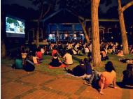 Watch Pedro's women under the stars in Miraflores
