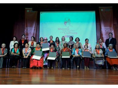 Peru honors 21 women for their contribution to nation's culture