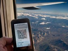 Save time: Now you can check in for your flight on your smartphone
