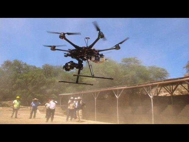 Peru: Lambayeque receives drones for surveying archaeological sites