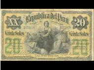 A brief insight into Peru's monetary past