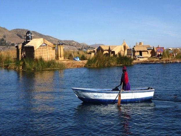 Titicaca: Crossing the highest navigable lake in the world