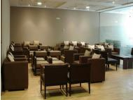 First class: Access VIP lounges and enjoy the benefits.