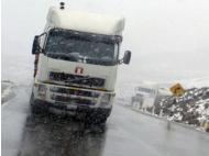 Transit in central Peru affected by snowfall