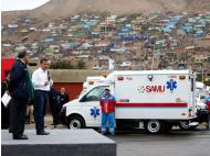Peru launches new fleet of ambulances worth US$15.9 million
