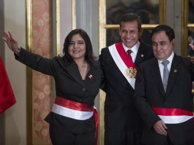 Ana Jara sworn in as prime minister of Peru