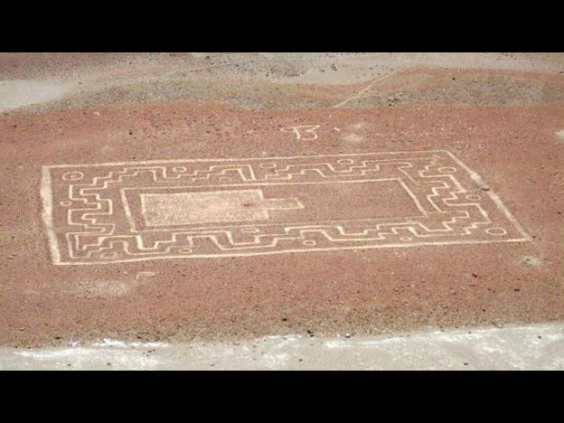 Large design is being described as similar to the famous Nasca lines. (Photo: Peru21)