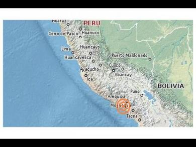 Arequipa recieves 4-magnitude earthquake