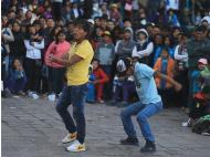 Dirty dancing on the streets of Cusco