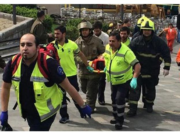 Explosion in Chile leaves 8 injured