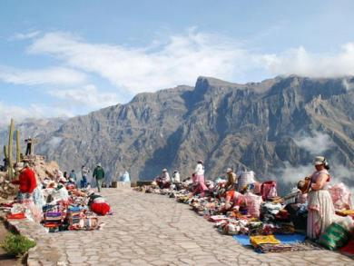 Peru's Colca Valley lured over 124,000 tourists so far in 2014