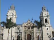 Historical Peru: Lima cathedral