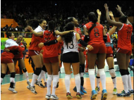 Peru beats Chile in South American Youth Volleyball