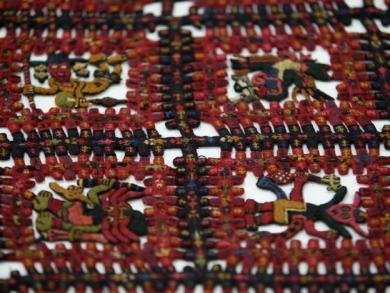 Ancient textiles returned from Sweden on display for limited time