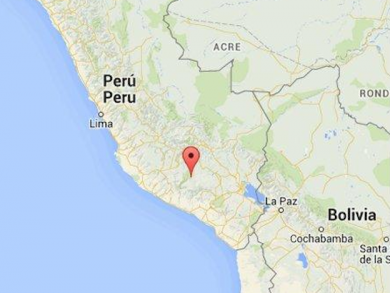 4.7 magnitude earthquake near Arequipa