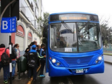 Blue line to charge bus fare starting Sunday