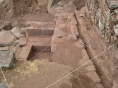 Stone with 13 angles discovered at Incahuasi site