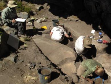 Shelter and tools from Ice Age discovered in Peru