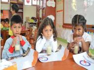Hundreds of children intoxicated by Qali Warma food