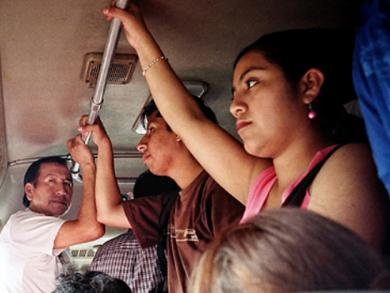 Lima's transport system is one of the world's worst for women