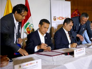 Peru and Ecuador speak up about climate change