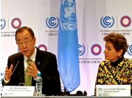 UN Secretary-General arrives in Lima to urge action at COP20