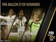 Get to know the 3 final candidates to win the Ballon D'Or