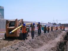 Southern Peruvian Gas line construction underway