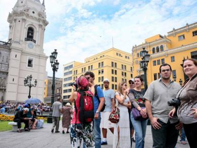 Foreigners arriving in Peru increase three-fold in five years