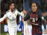 Real Madrid vs San Lorenzo in the Fifa Club World Cup final