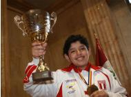 Peruvian wins runner-up in world youth chess tournament